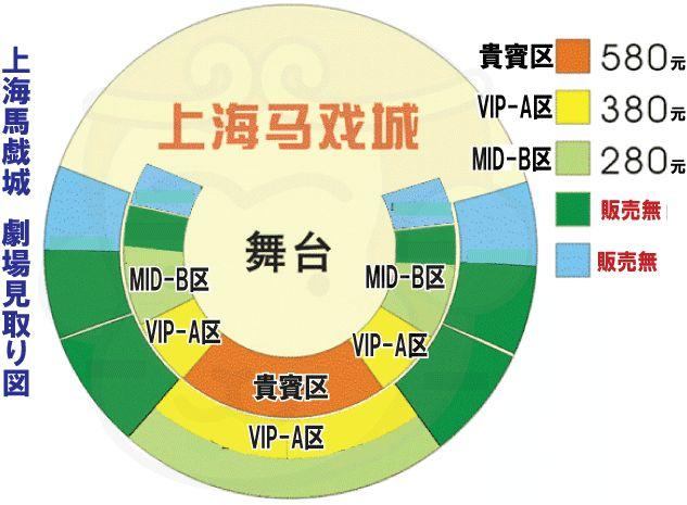 劇場席の見取り図