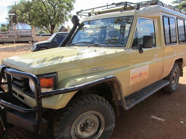 タンザニアサイドでは4WDを使用