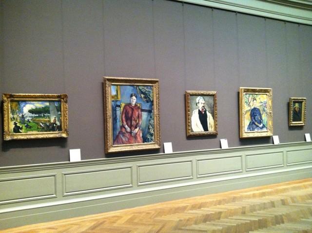 【メトロポリタン美術館】ポール・セザンヌの「赤いドレスを着たセザンヌ婦人」