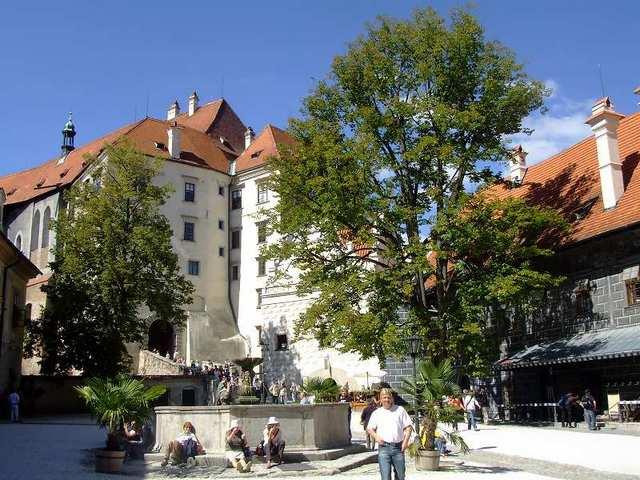 中世の可愛らしい街並み