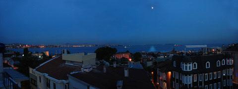 夜景も素晴らしい