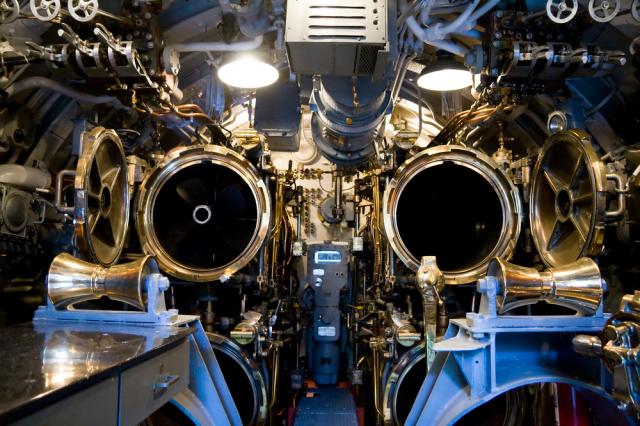 ボウフィン潜水艦 内部