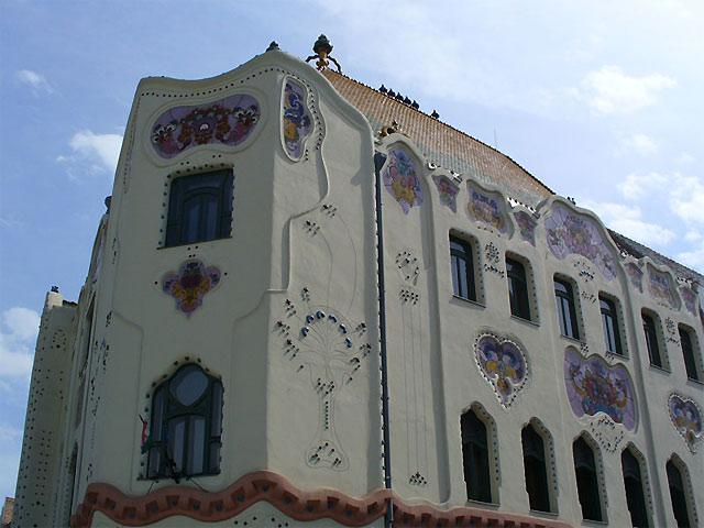 ケチケメートの建物