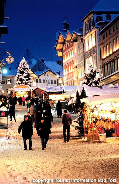 バート・テルツのクリスマスマーケット