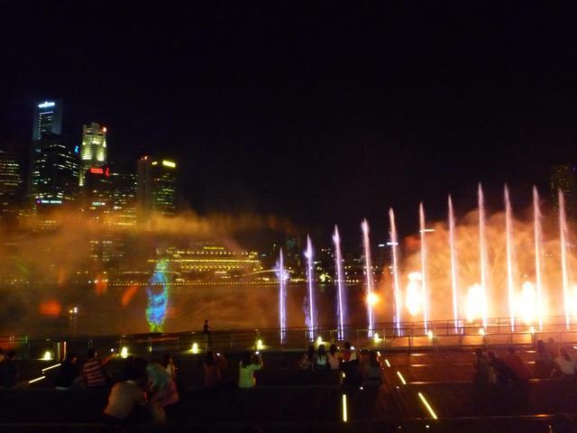 光と音と水のショー、ワンダフル