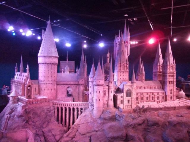 その大きさにびっくり、ホグワーツ魔法魔術学校