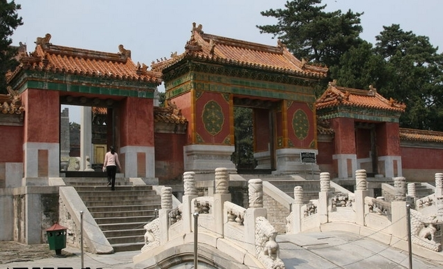 西太后の慈禧陵