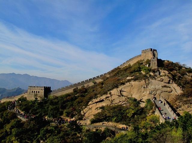世界遺産・万里の長城「八達嶺長城」