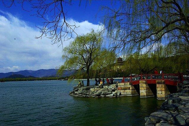 頤和園・昆明湖