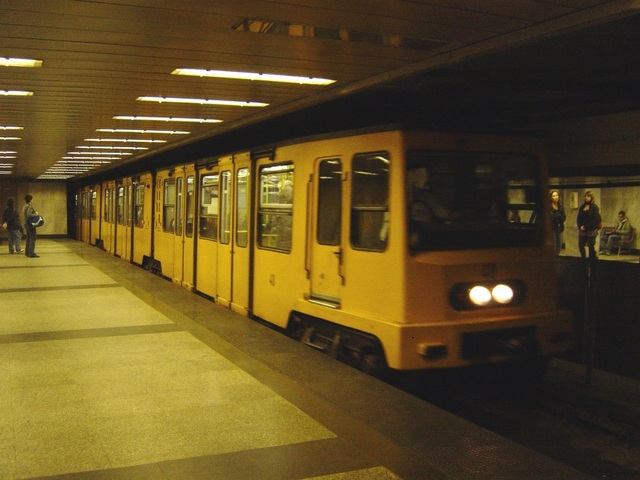 地下鉄の様子