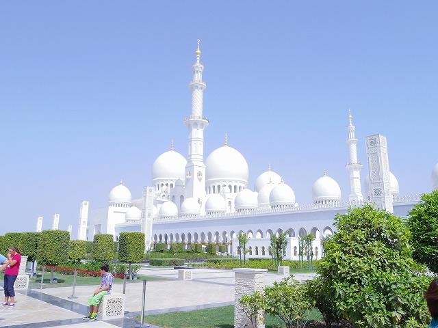 世界最大級のモスク、シェイクザイードモスク