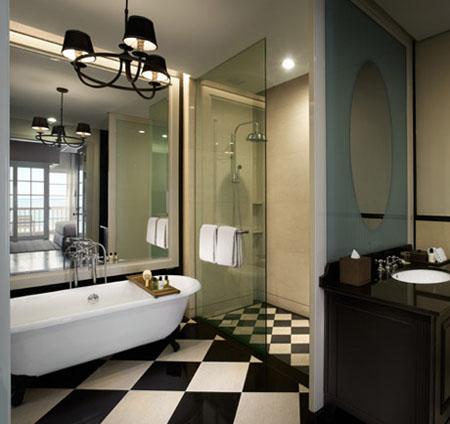 ースタン&オリエンタル ホテル バスルーム一例