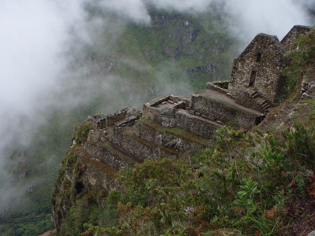 マチュピチュ 絶壁