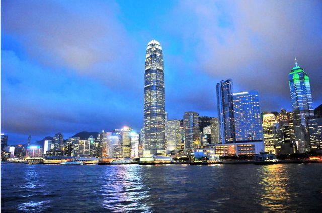 香港といえばこれ、100万ドルの夜景!