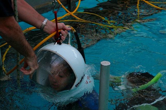 泳げなくても水中世界を楽しめるシーウォーカー