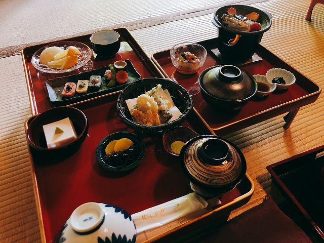 西禅院での精進料理が楽しめます。