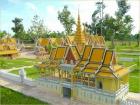 カンボジア文化村観光【午前または午後】