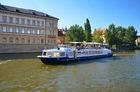 市街中心部を優雅にクルーズ!プラハ運河ランチクルーズ!ホテルからのお迎え付き