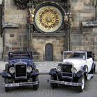 一風変わったプラハ市内観光! クラシックオープンカーで巡る! 【4月~10月催行】