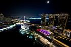 シンガポール新夜景スポットと「ワンダフル」ショー鑑賞