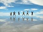 ウユニ塩湖1日と夕日ツアー[ホットホリデー日本人スタッフ同行/12月下旬~4月初旬限定催行]