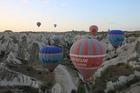 熱気球付 カッパドキア・パムッカレ[イスタンブール発着/航空券+宿+ツアー付き/2泊3日]