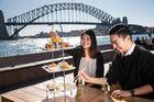 世界遺産オペラハウス 3段プレート食事付日本語ガイドツアー