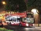 オープントップバス 夜景観賞+ 女人街散策ツアー (毎日2便運行)