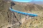 雲の列車に乗って鉄橋を渡ろう!