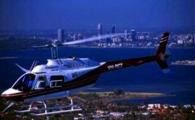 ヘリコプターで行く、フリーマントル / フリーマントル&シーニックビーチツアー