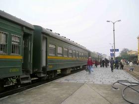 列車で行く!ハイフォンローカルツアー