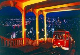 ビクトリアピーク&アバディーンと100万ドルの夜景