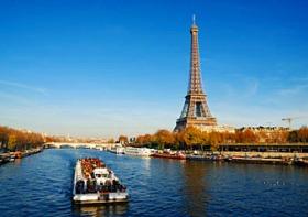 ユーロスターで行く!!ロンドン発パリ3つ星ホテル泊1泊2日ツアー