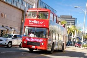 ハリウッド・ダブルデッカー観光周遊バス乗車券