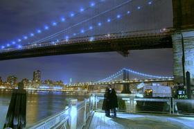 ニューヨーク・シティ 3大有名夜景ポイント巡り 【展望台チケット/復路送迎付き】