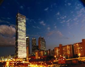 63ビルの夜景観賞と漢江クルーズ