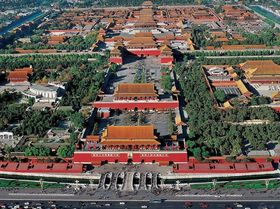 北京市内半日観光(天安門広場・故宮博物院)