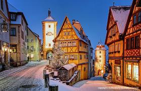 2つのクリスマスマーケットへ! ニュルンベルクとローテンブルク [12月限定/ フランクフルトまたはミュンヘンで終了/ みゅう]