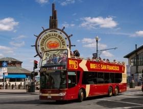 ビッグバスツアーズサンフランシスコ 乗り降り自由市内観光バス1日乗車券 (日本語オーディオ解説付き)