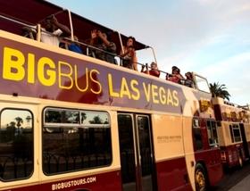 ビッグバスツアーズラスベガス 乗り降り自由市内観光バス乗車券(2日間券)