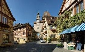 中世の宝石 ローテンブルク1日観光 ロマンチックライナー[GW、お盆時期のみ催行/ みゅう] ミュンヘン行きプランあり
