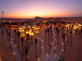 砂漠のホテル「アラビアンナイツビレッジ」に宿泊!