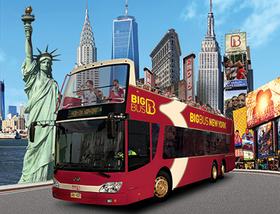 ビッグバスツアーズニューヨーク デラックスチケット【2日間乗り降り自由市内観光バス+クルーズ+ナイトツアー+ブルックリンツアー】