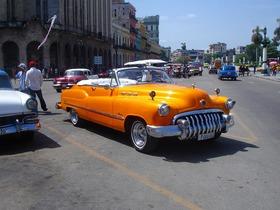 クラシックアメリカカーで回る‼ハバナ1時間観光