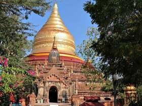 バスで行く格安バカン観光 4日間 [往復バス利用・車中2泊+宿1泊+ツアー] ヤンゴン発