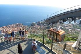 旧市街を見渡せる絶景!スルジ山ケーブルカーチケット(片道/往復)