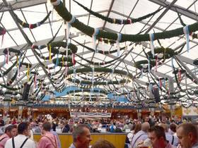 [10月6日限定!]オクトーバーフェスト 世界最大のビール祭りが始まる人気テント・ショッテンハーメル