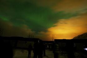 アイスランドで宿からオーロラ鑑賞 5日間 [航空券・郊外B&B3泊] ニューヨーク発