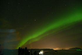 アイスランドでオーロラ鑑賞 4日間 [航空券・オーロラツアー・宿3泊] フランクフルト発