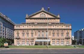 コロン劇場とマルバ美術館をガイドと一緒に散策ツアー